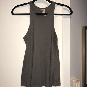 Free People grey tank